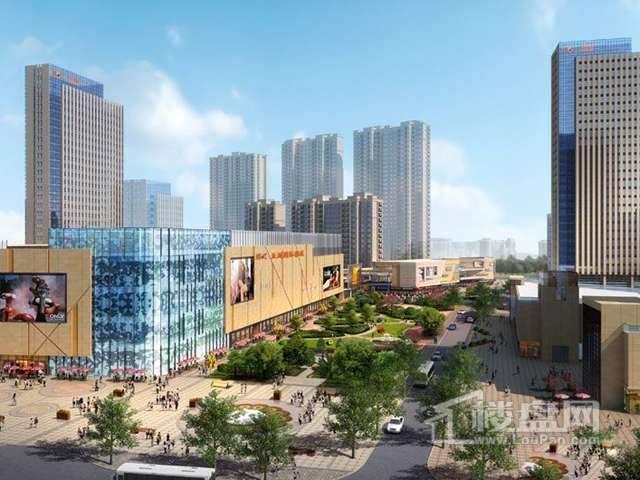 江阴五洲国际广场实景图