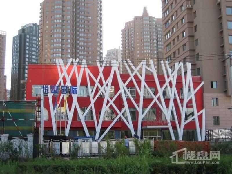 悦山国际实景图