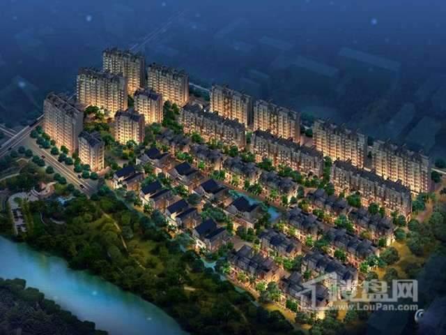 海棠湾花园实景图