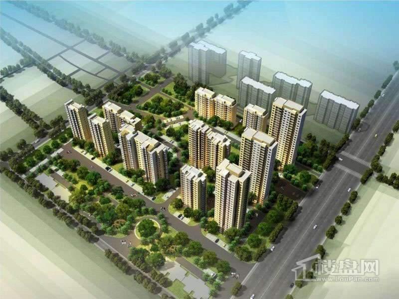 明城东岸实景图