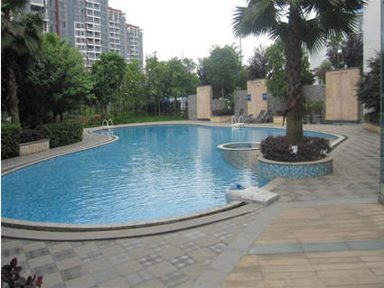 珠江花城实景图