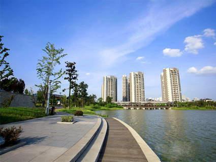 藏珑湖上国际花园实景图