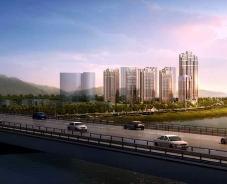三江城实景图