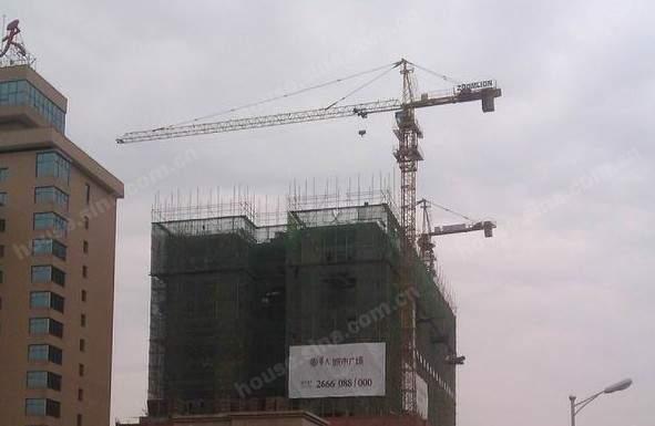 华天城市广场实景图