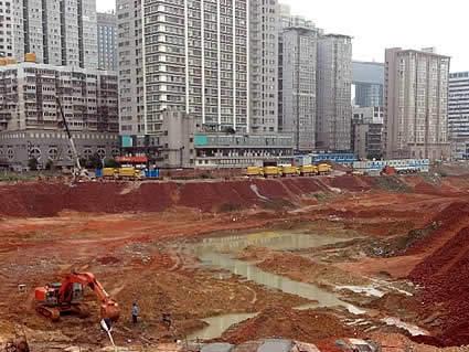 长沙国金中心实景图
