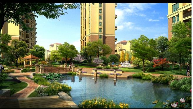 博瑞•明珠城实景图