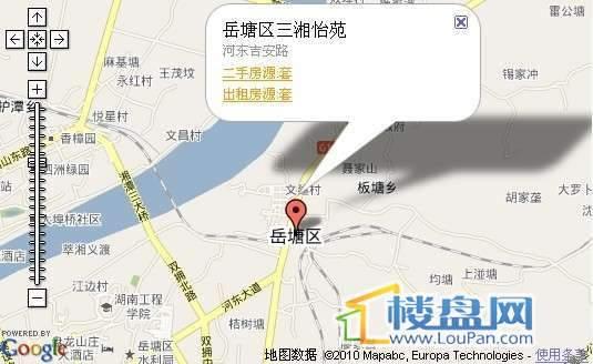 三湘怡苑交通图