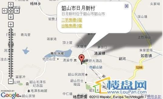 日月新村交通图