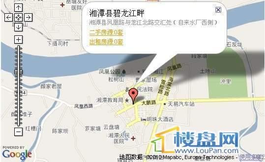 碧龙江畔交通图