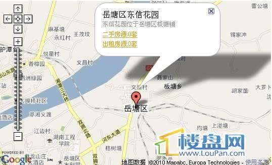 东信花园交通图