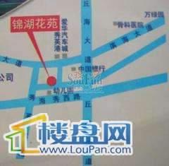 锦湖花苑交通图