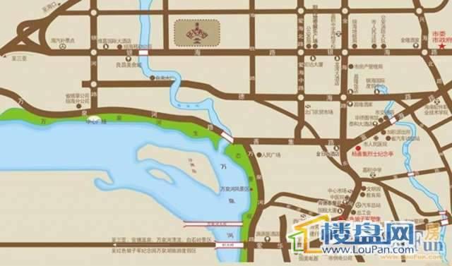 清庭交通图