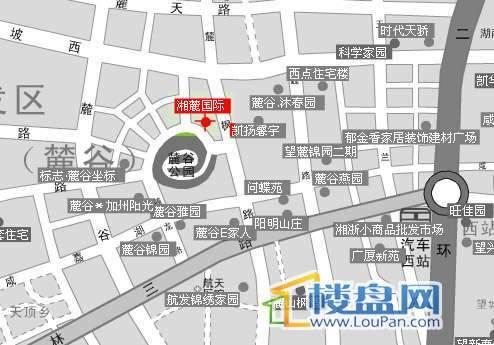 湘麓国际三期公寓交通图
