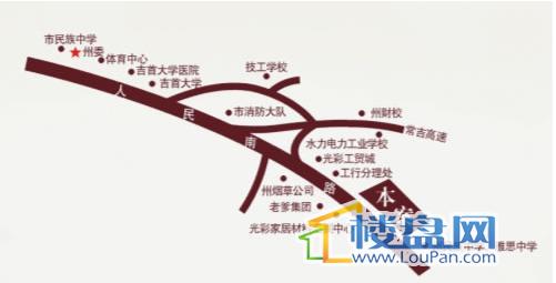 正阳·半山公馆交通图