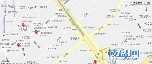 北京大厦交通图