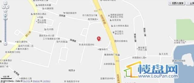 昌茂润德商业广场交通图