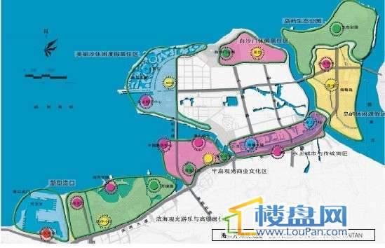 滨海领地交通图