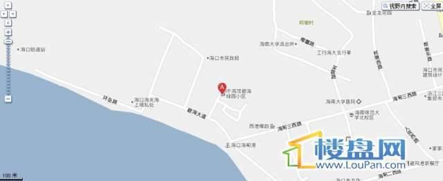 千鸿茂绿园小区交通图