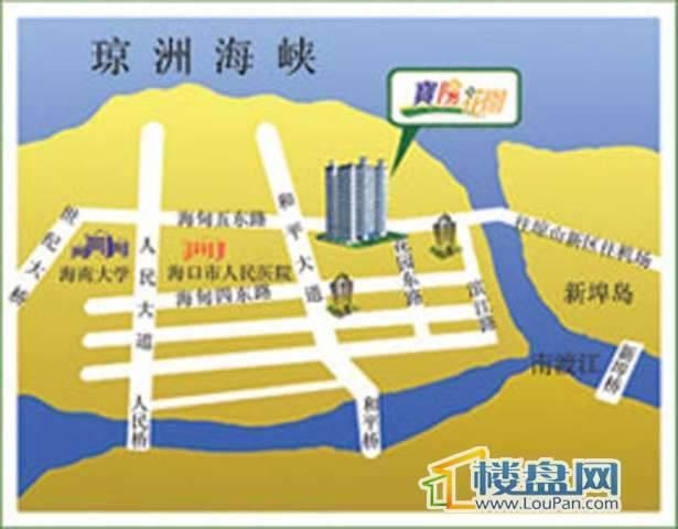 宝阳花园交通图