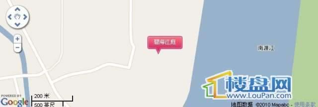 碧海江庭交通图