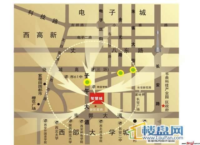 智慧城 交通图