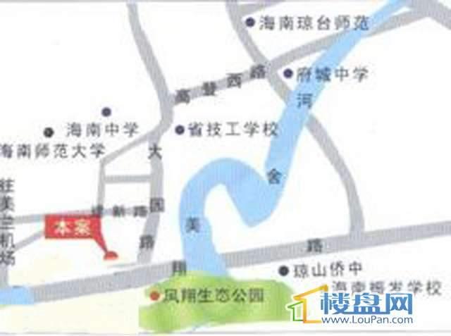 宝庆花园南·茗都交通图