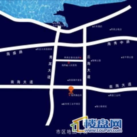 花语庭苑交通图
