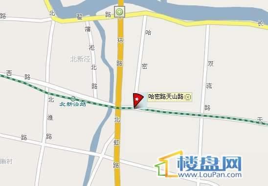 兆南和园交通图