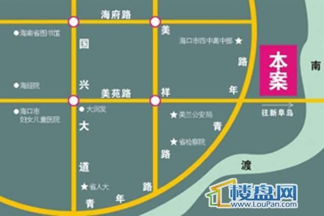 玫瑰湾交通图