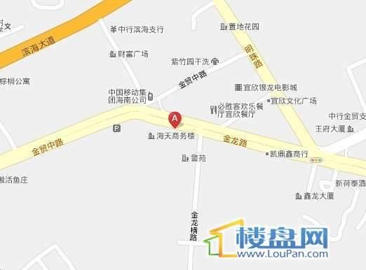 翠景园交通图