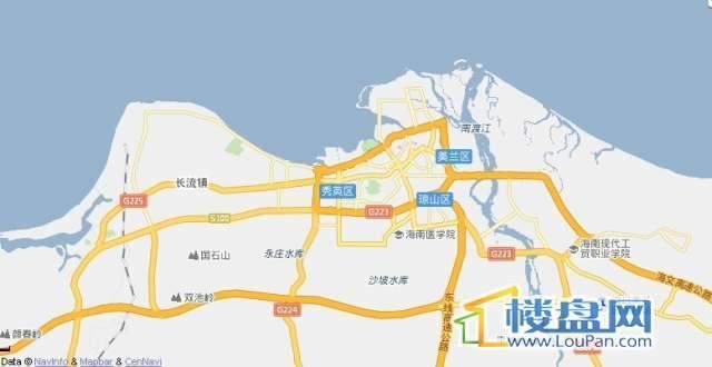 碧海御园交通图
