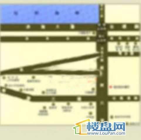 耀江花园交通图
