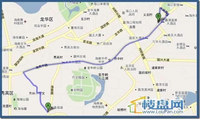 戎居公寓交通图