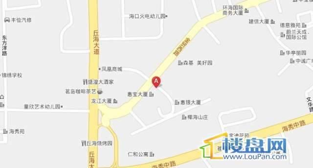 海逸华府交通图