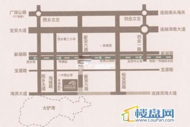 海语花园交通图