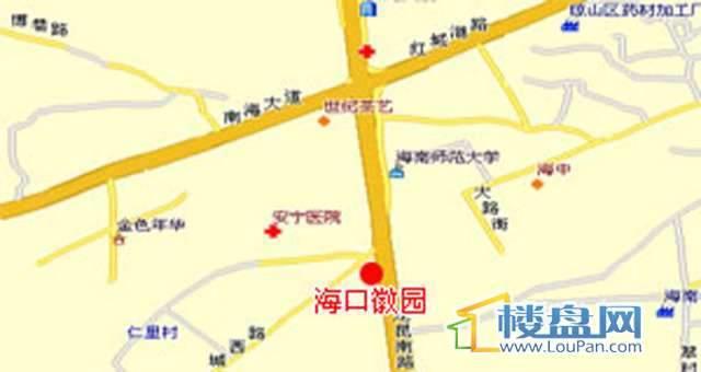 城西徽园陶瓷商业城交通图