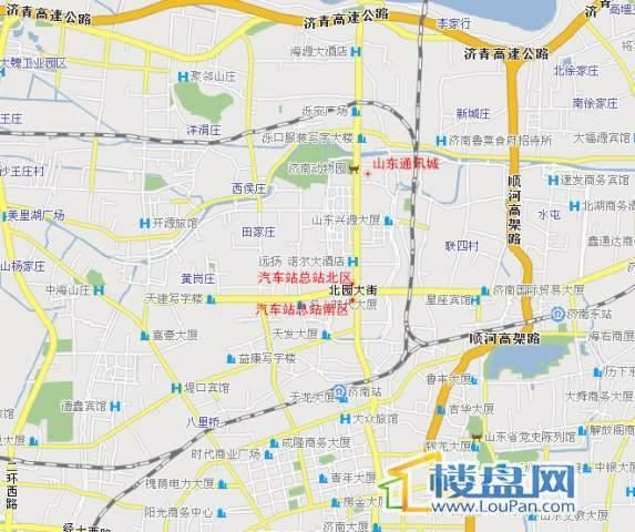 明珠创新通讯城商铺交通图