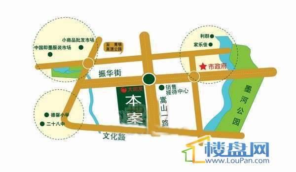 宝岛花园交通图