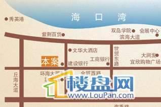 海南御景峰交通图