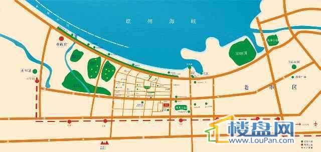 西秀绿洲交通图