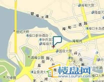 福隆广场交通图