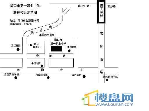 亚洲豪苑交通图