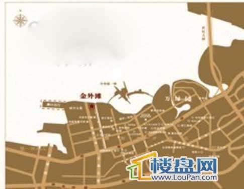 金外滩交通图