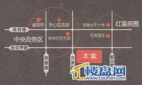 相府(高升御园)交通图