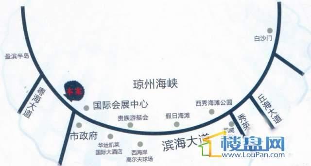 美锦熙海 交通图