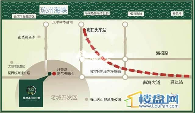 熙岸新铁度假村交通图