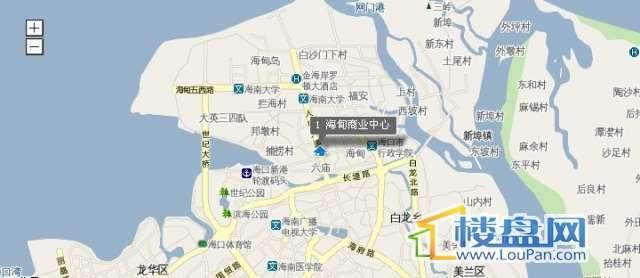 海甸商业中心交通图