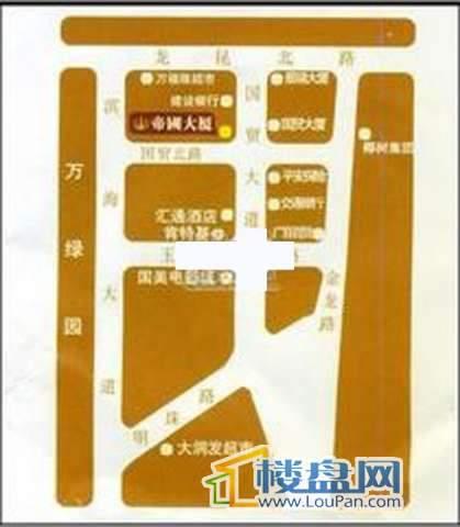 帝国大厦交通图