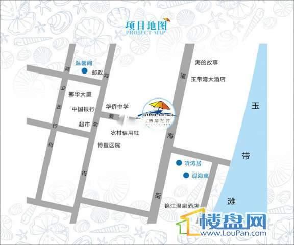 博鳌左岸交通图