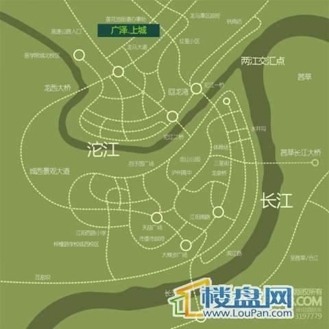 上城名都交通图